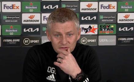 """مؤتمر """"سولشاير"""" مدرب مان يونايتد قبل مواجهة غرناطة اليوم في الدوري الأوربي - Man United conference"""