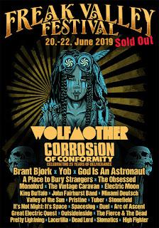 Freak Valley Festival 2019 poster