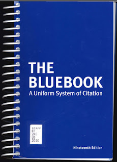 Bluebook cover