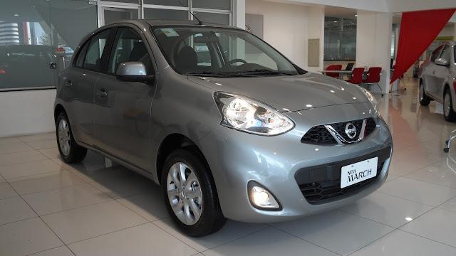 Nissan sorteia March SV a clientes de serviços da marca