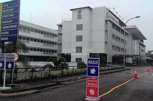 Lokasi, Alamat Rumah Sakit Akademik RSA UGM via Google Maps