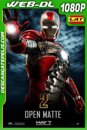 Iron Man 2 (2010) Open Matte 1080p WEB-DL Latino – Ingles