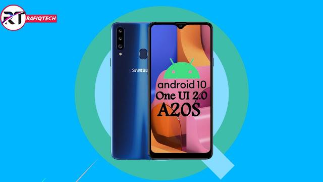 تحديث Android 10 بواجهة One UI 2.0 لجهاز Samsung Galaxy A20s (مع رابط التحميل)