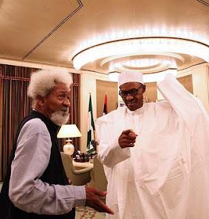 VIDEO: What I Discussed With President Buhari And My Impression Of Him - Soyinka