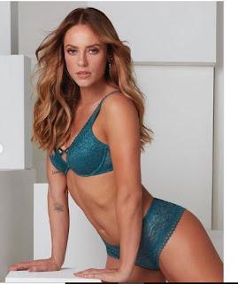 Paolla Oliveira arrasa em fotos de lingerie