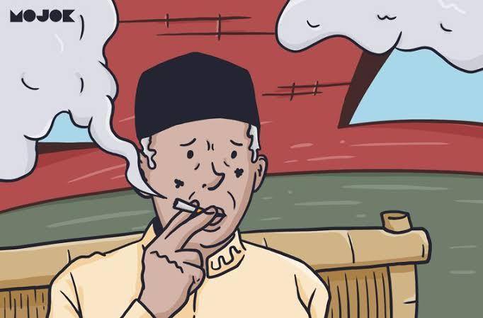 Hukum Merokok di Dalam Masjid Menurut Pak Kiai
