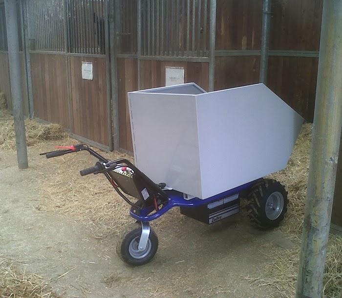 brouette electrique zallys qualit italienne chariot. Black Bedroom Furniture Sets. Home Design Ideas