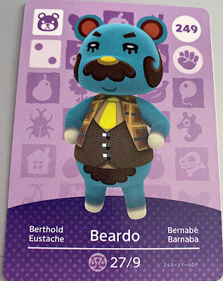 Animal Crossing Amiibo - Beardo