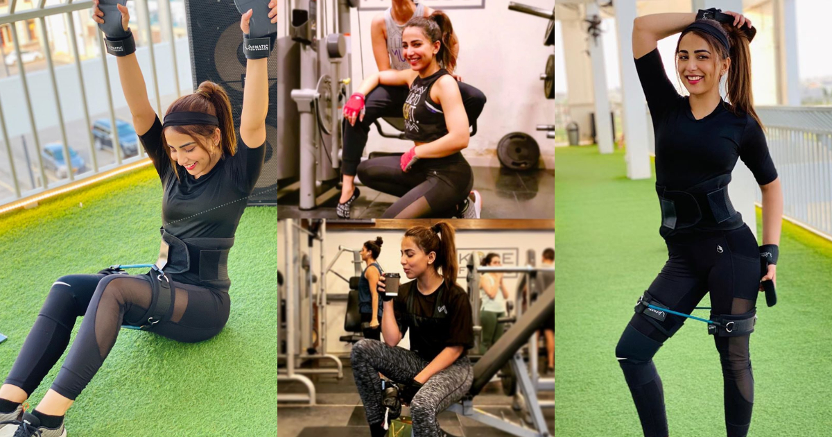 Workout Pictures of Ushna Shah Gives us Major Fitness Goals