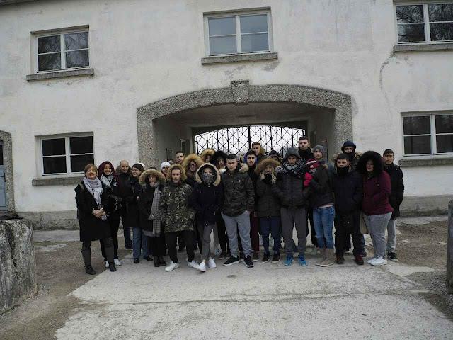 Το Νταχάου επισκέφτηκαν οι μαθητές της Γ' Λυκείου της Αγίας Τριάδας