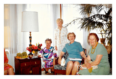 Natalie Vasilev and Holy Trinity Sisterhood women, taken in the early 1970's at 2678 McAllister Street in San Francisco