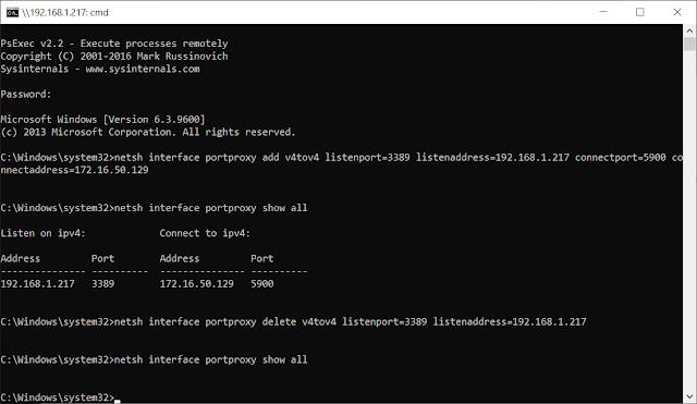 Reference - Sức mạnh đáng sợ của Netsh interface portproxy giúp ích sysadmin như thế nào