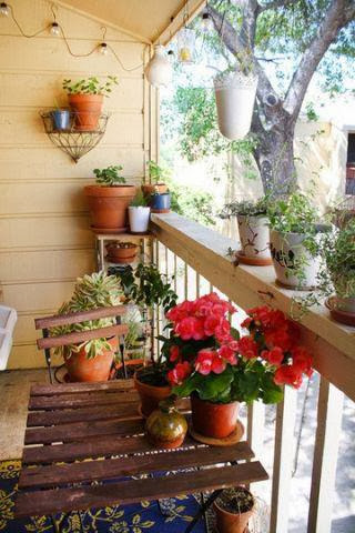 inspiration for a balcony garden