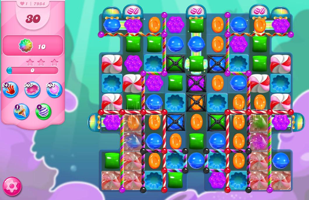 Candy Crush Saga level 7954