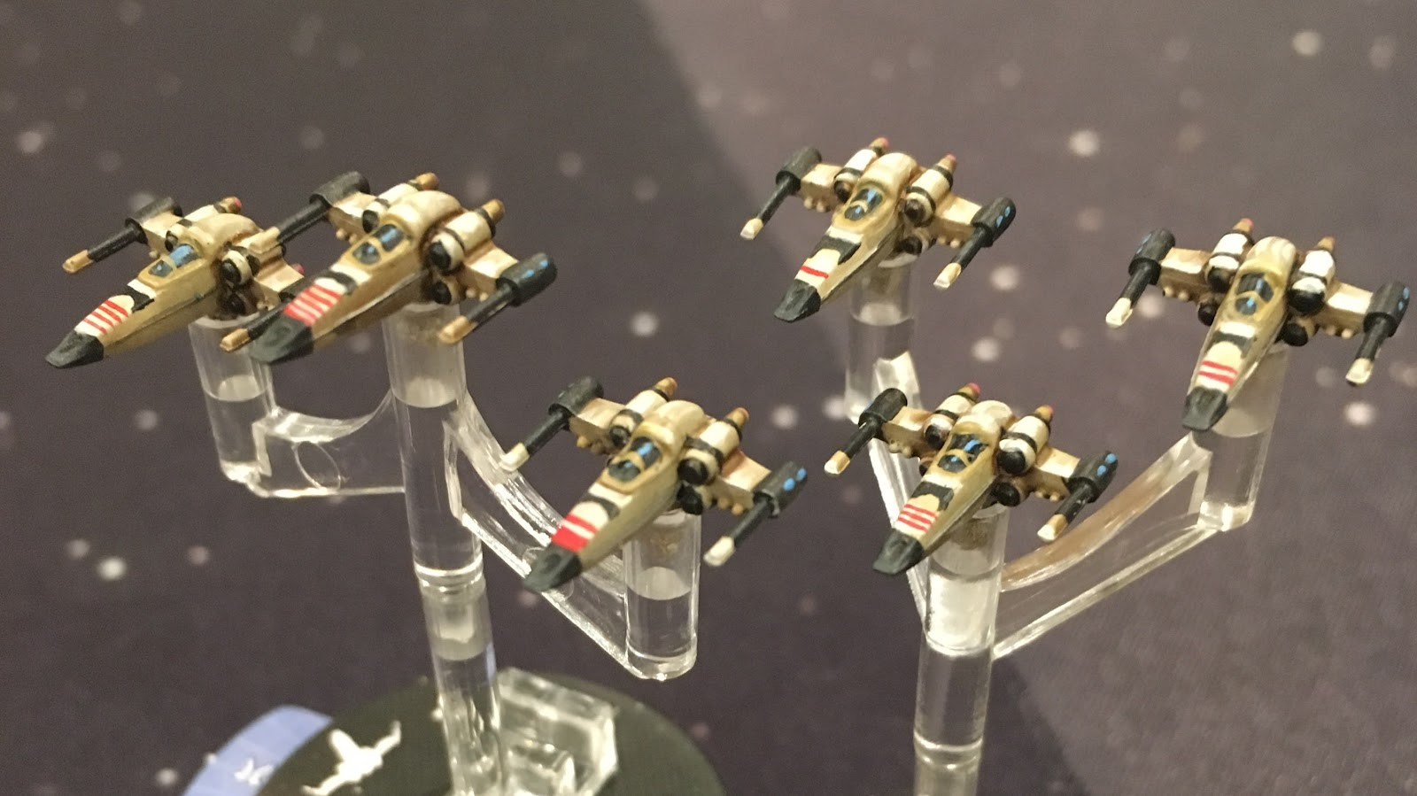 After a cursory search I picked a style that would help distinguish these Z-95s from my Red Squadron X-wings, but wouldn't look too out of place in service ...