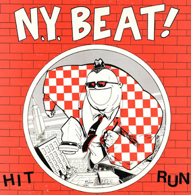 The cover illustration features a cartoonish King Kong-sized rude boy smiling and dancing as buildings shake all around him.