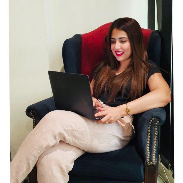 "Drama Set of ""Bandhay Ek Dour Se""   Ahsan Khan, Hina Altaf and Ushna Shah Beautiful Pictures"