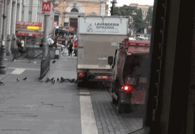 I tram e la sosta selvaggia