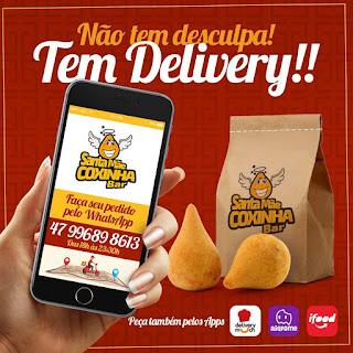 Delivery de coxinhas em Itapema