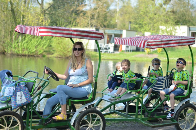 family bike, 10 person bike, centre parcs de huttenheugte