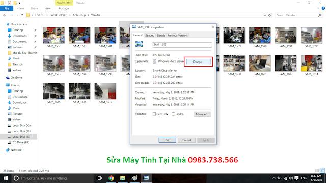 Xem ảnh mặc định với Windows Photo Viewer - H05