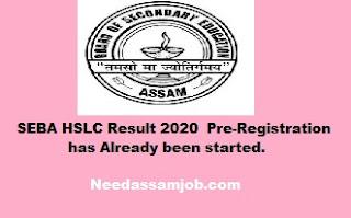 SEBA HSLC result 2020
