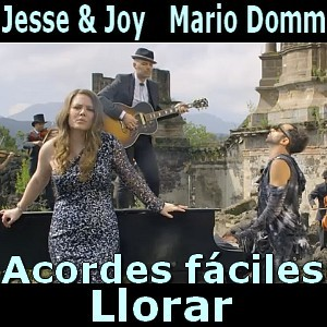 Jesse Joy Llorar Ft Mario Domm Facil Acordes D
