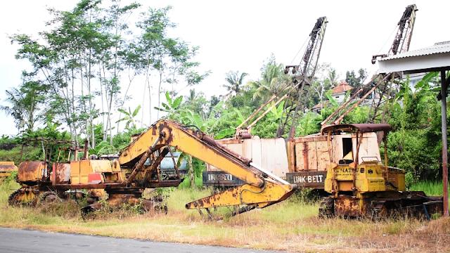 TERNYATA GINI! Kondisi PERALATAN KONSTRUKSI yang Dipakai saat Pembangunan WADUK SEMPOR