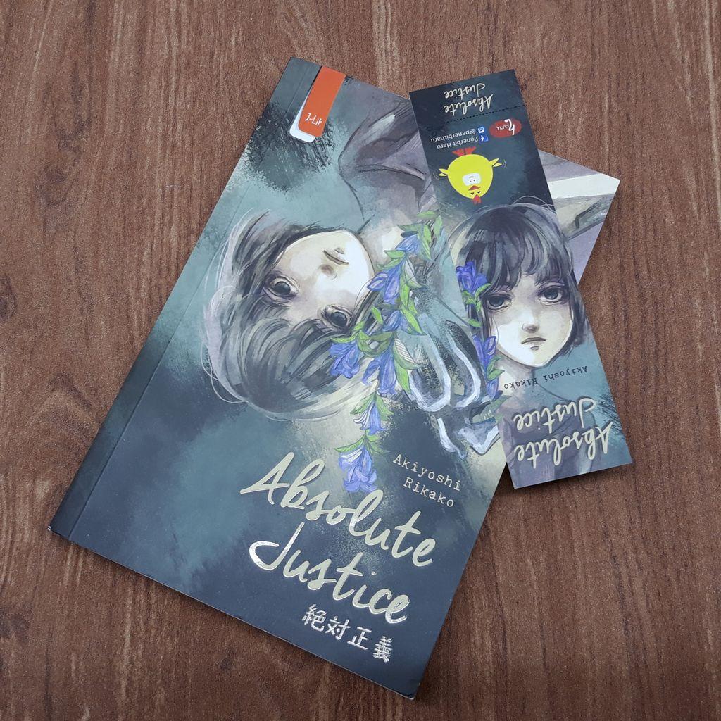 Novel Absolute Justice oleh Akiyoshi Rikako