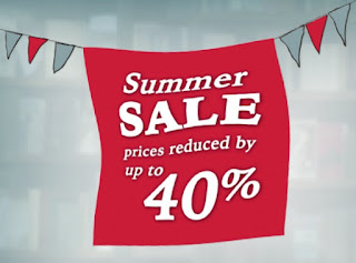 Summer Sale - up to 40% off