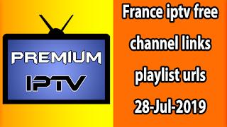 Best France iptv free playlist urls 28-Jul-2019