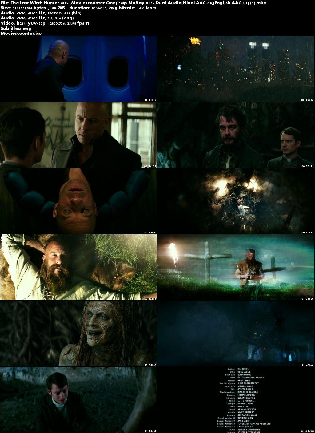 Screen Shots The Last Witch Hunter 2015 Dual Audio HD 720p