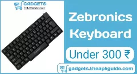Review Guide : Zebronics K20 USB Keyboard Under 300