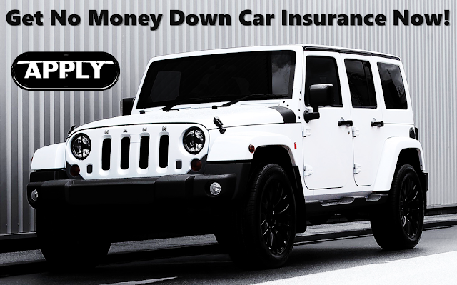 No Money Down 30 Day Car Insurance With Bad Credit