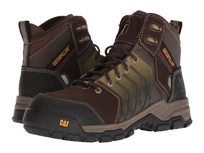 Sepatu Caterpillar Original Induction CT Brown