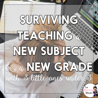 Juggling being a mom and a teacher is hard, and even harder when you are teaching a new grade and a new subject with 6 month old twins and a 2 year old. Here's what I learned, separated into home life and school life, for all you other teacher mamas out there.