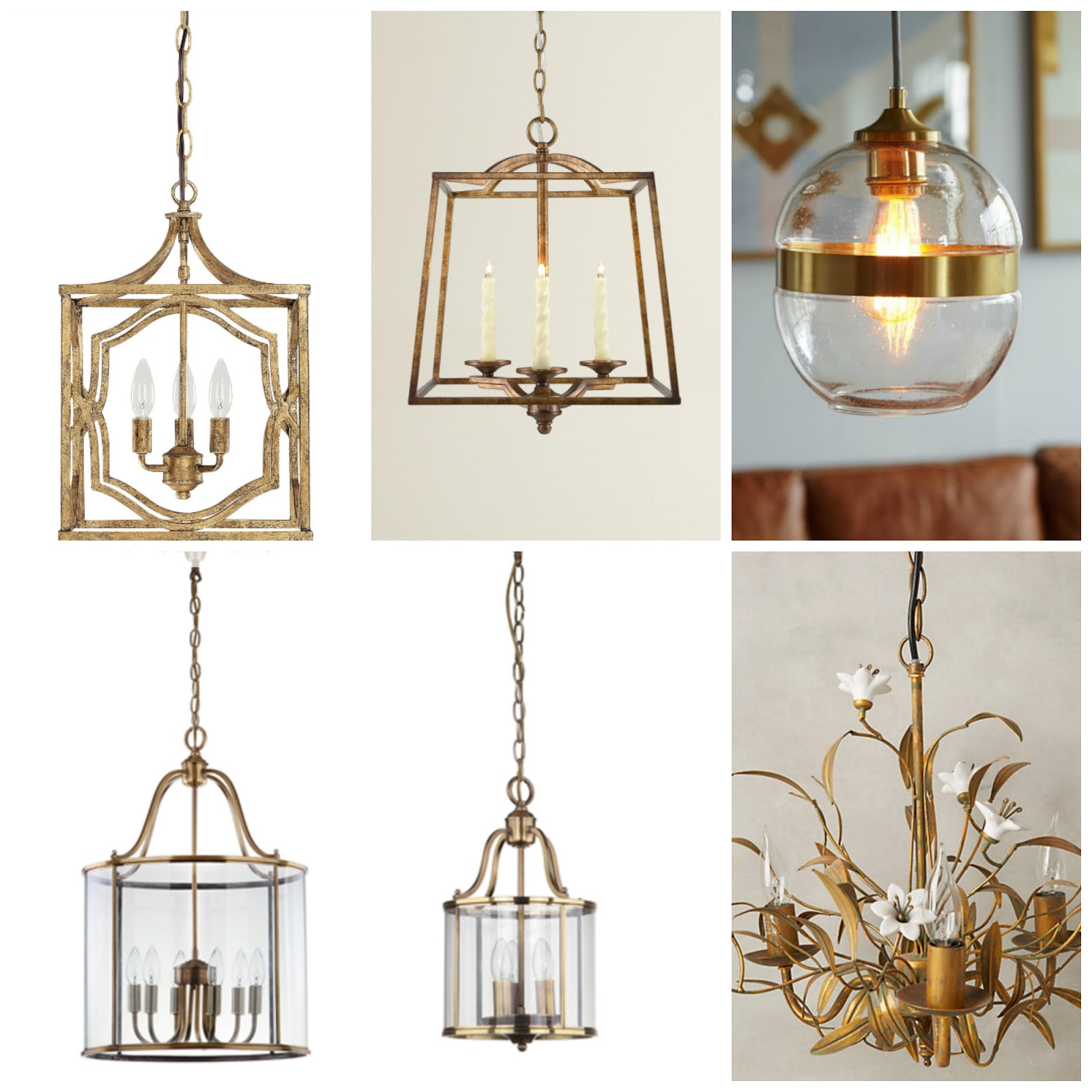 shop the look lighting