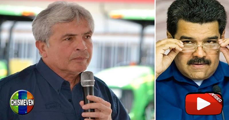 Maduro barre el suelo con su ministro Castro Soteldo en vivo y directo