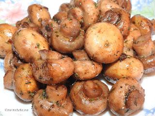 Ciuperci sote reteta traditionala romaneasca de casa prajite la ceaun cu ulei unt usturoi vin condimente si plante aromatice retete culinare rapide mancare garnitura mancaruri garnituri champignon mod de preparare,