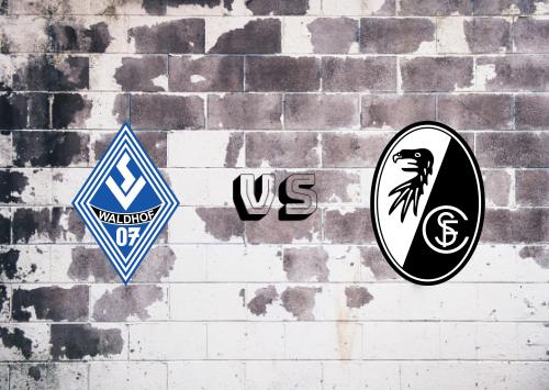 Waldhof Mannheim vs Freiburg  Resumen