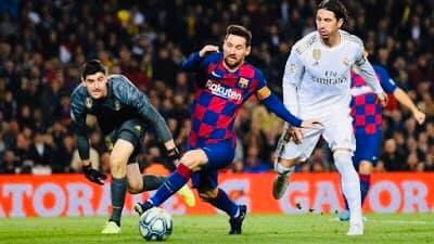التعادل الأبيض بين الريال وبرشلونة في الشوط الأول من كلاسيكو الدوري الإسباني.. قراو التفاصيل✍️👇👇👇
