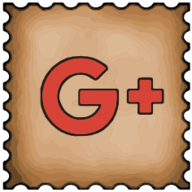 google plus stamp icon