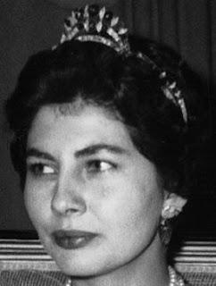 emerald diamond tiara iran princess soraya pahlavi
