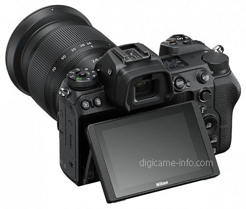 Nikon Z6, с откидным экраном