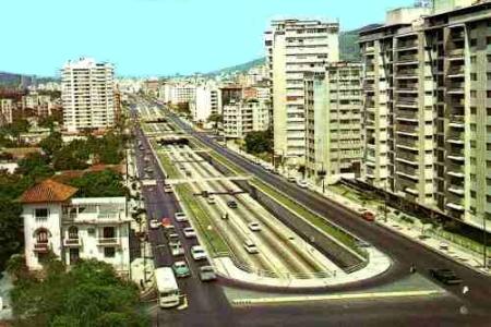 Avenida Libertador Antigua