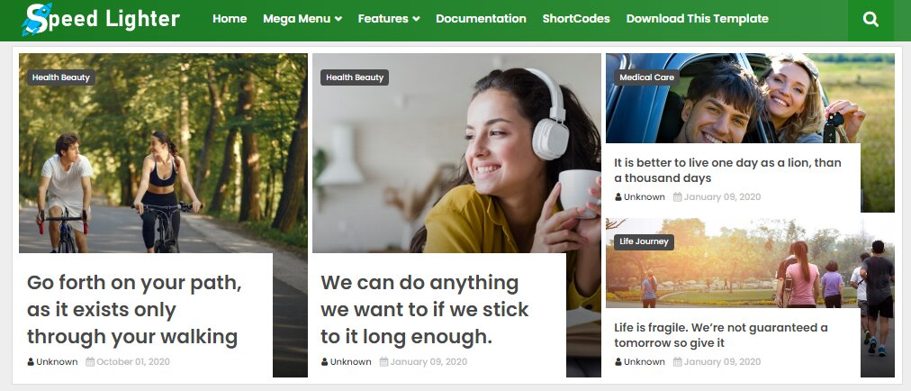 This is impressive loding fast blogspot blogging theme  on the platfrom . This template is turned for Blogger from premium WordPress theme.