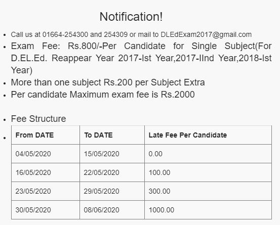 image : HBSE D.Ed. Result 2020 Application Form July 2020 @ Haryana-Education-News.Com