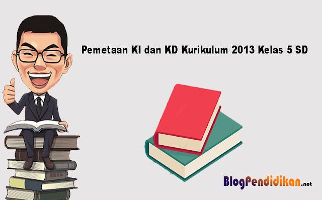 Pemetaan KI dan KD Kurikulum 2013 Kelas 5 SD