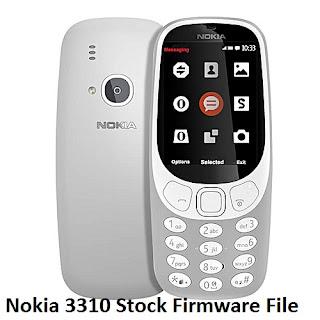 Nokia-3310-Firmware-Flash-file-Download