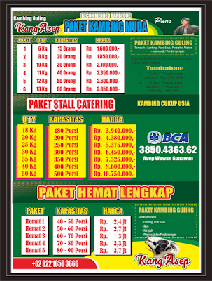 Jual Kambing Guling Bandung 082216503666